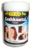 Кеш Кунтал укрепляющий препарат для волос Вьяс Фарма / Vyas Pharma Kesh Kuntal Tablets