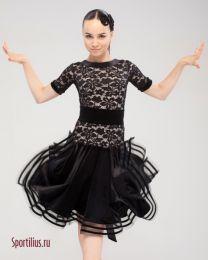 """Платье """"Белиссимо"""", черное"""