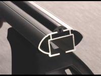Багажник на крышу Ford Focus 2, Lux, аэродинамические  дуги (53 мм)