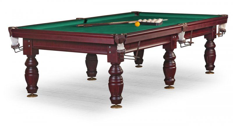 Бильярдный стол для русского бильярда «Дебют» 10 ф (махагон) KR10S