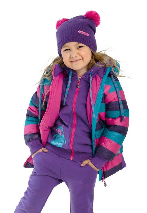 Куртка для девочки Морская волна