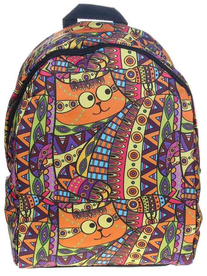 Рюкзак ПодЪполье Strange orange cat