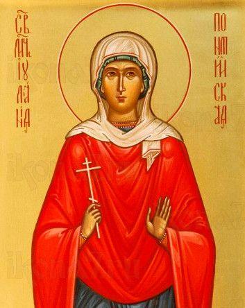 Икона Иулиания Амисийская (рукописная)