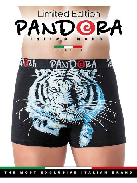 Трусы мужские Тигр серого цвета размер XL