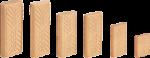 Дюбель Domino , комплект D 5X19X30/1800 (в картоне) Festool