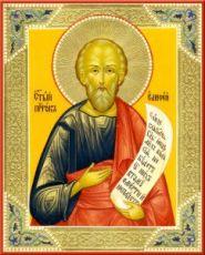 Икона Елисей, пророк (рукописная)