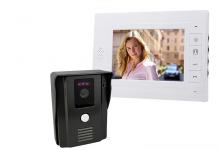 Цветной видеодомофон для квартиры и частного дома.