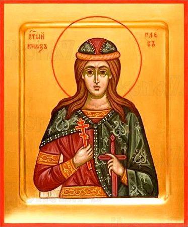 Икона Глеб, князь (рукописная)