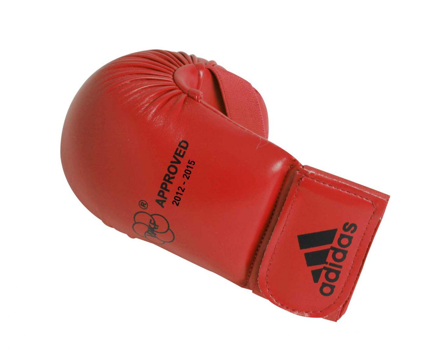 Накладки для карате WKF Bigger красные, размер XS, артикул 661.22