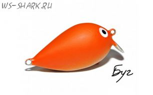 Головастик 40F оранжевый матовый