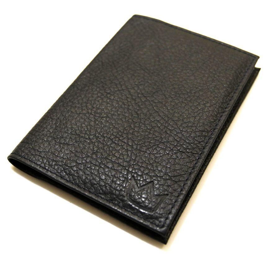 Обложка для паспорта Vito Rosso Basic BlackBl