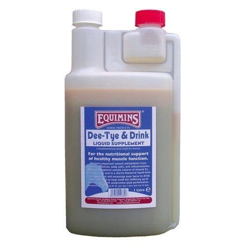 Equimins Dee-Tye & Drink Liquid Supplement - (добавка для здоровых мышц)