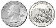 2014 22 нац парк США 25 центов. Shenandoah National Park