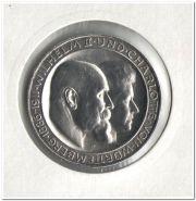 Германия 3 марки 1911 Свадебная Вюртемберг UNC
