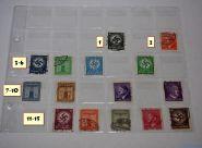 Почтовые марки 3го рейха