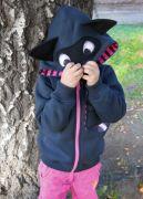 детский свитшот с капюшоном