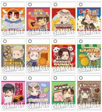 Брелок/подвеска Хеталия Оригинал из Японии !/ pendent Hetalia The World Twinkle - Trading Okashi Charm Mascot 12Pack BOX Original