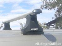 Багажник на крышу Лада Ларгус, Атлант, аэродинамические дуги