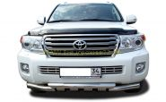 Защита переднего бампера 76 мм для Toyota Land Cruiser 200 2012