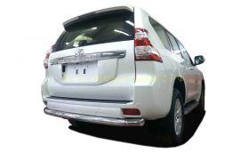 Защита заднего бампера 76 мм  для Toyota Land Cruiser Prado 150 2013 -