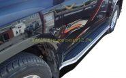 Зашита штатного порога 42 мм для Toyota Land Cruiser Prado 150 2013 -