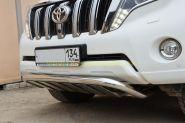 Защита переднего бампера 53 мм для Toyota Land Cruiser Prado 150 2013 -