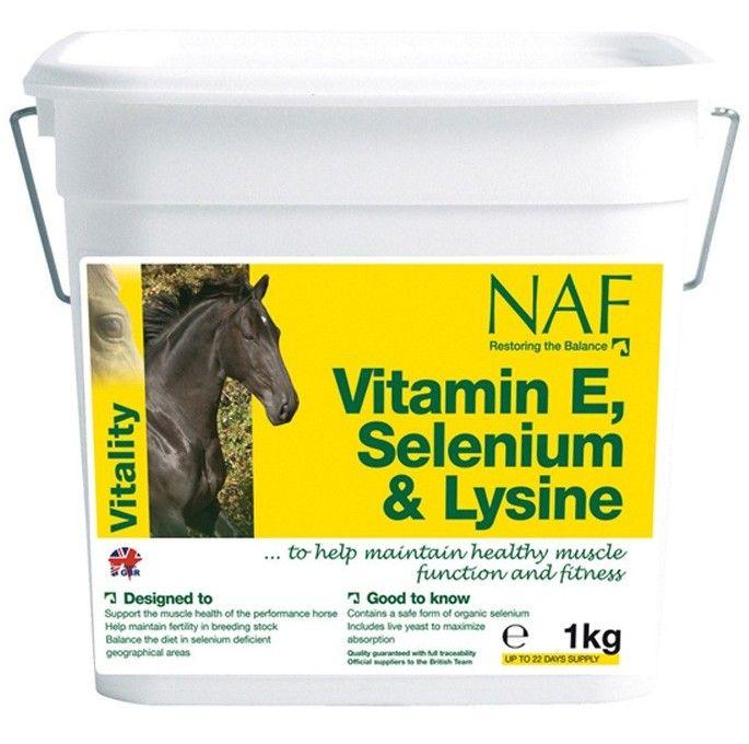 NAF Vitamin E & Selenium. Витаминная подкормка. 1 кг.