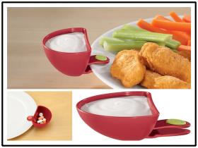 Набор мисок для соуса Dip Clips