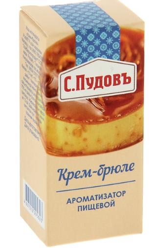 ПУДОВ Ароматизатор Крем-брюле 10 мл