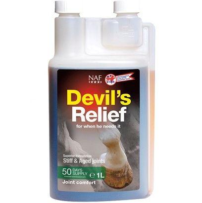 NAF Devils Relief. Сироп для суставов. 500 мл и 1 литр