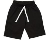 Черные шорты для мальчика Мини Макси 1391