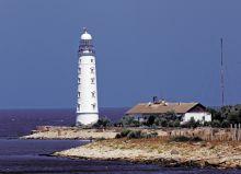 Почтовая открытка Херсонесский маяк. Крым