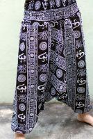 штаны алладины символ ом, купить в интернет магазине