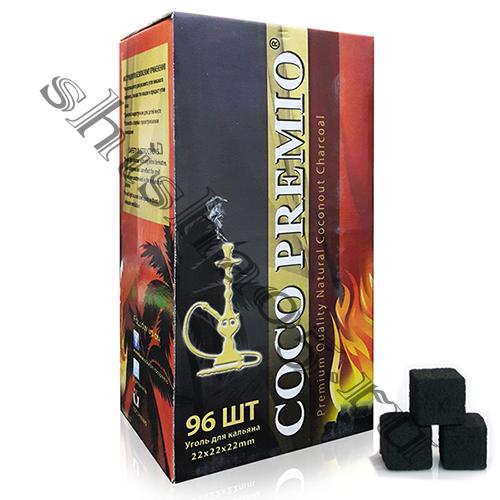 Уголь CocoPremio - 22мм³ (96куб)