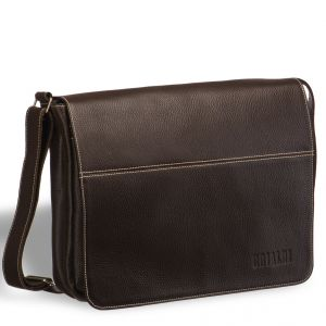 Вместительная сумка через плечо BRIALDI Chieti (Кьети) brown