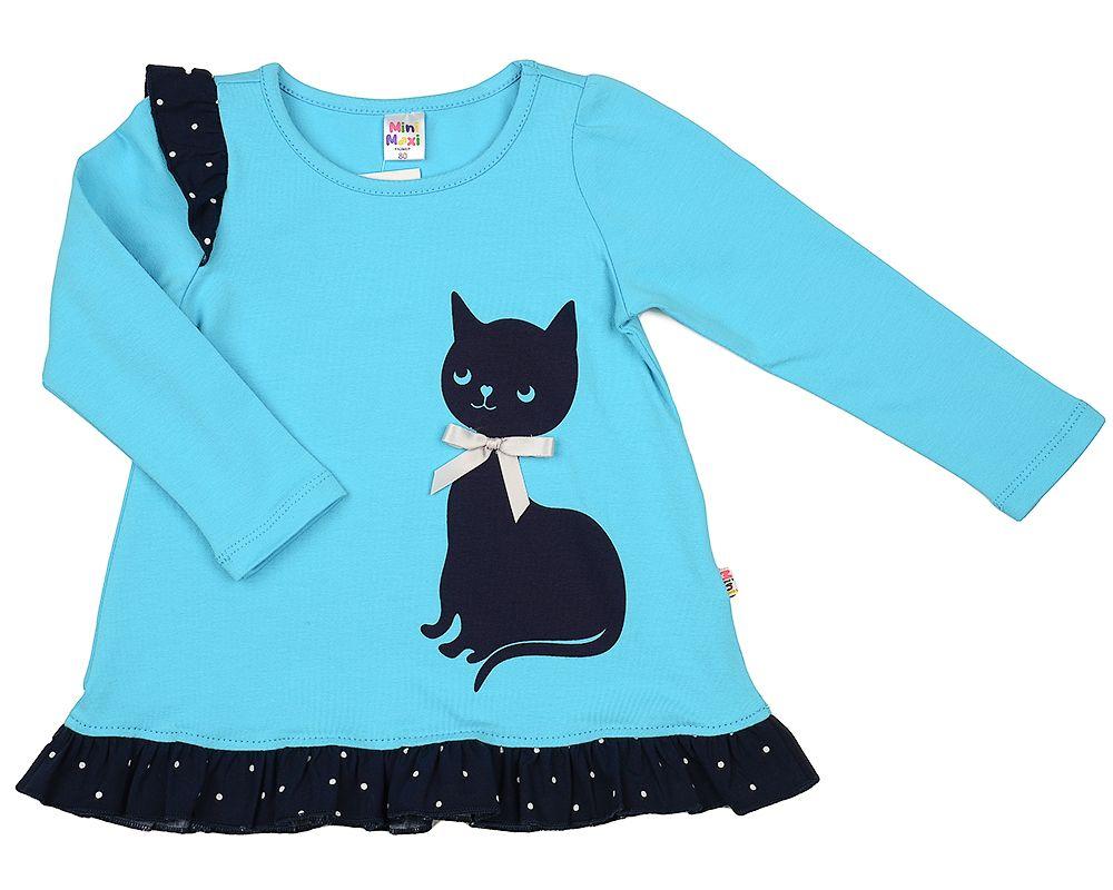 Платье для девочки Черная кошка