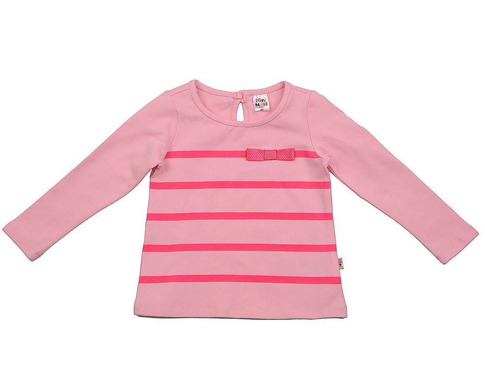 Блузка для девочки Розовые полоски