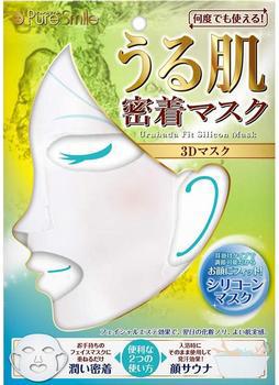 """""""Pure Smile"""" Трёхмерная увлажняющая многоразовая силиконовая маска"""