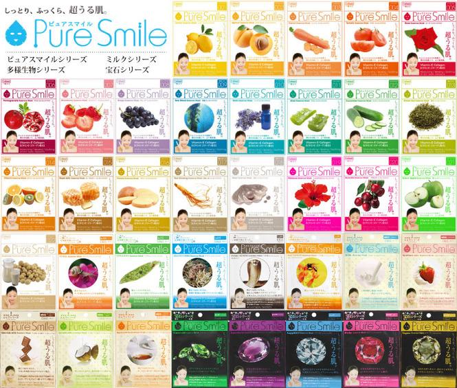 """Pure Smile"" ""Essence mask"" маски для лица в ассортименте"
