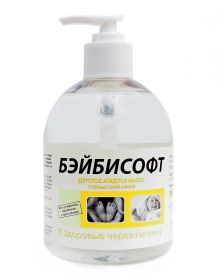 Бейбисофт / детское жидкое мыло / с дозатором / 0,5 л