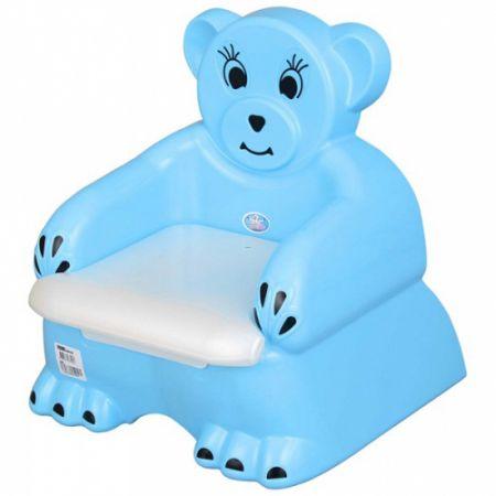 """Горшок-кресло детский """"БОБО"""" для детей от 1 года 46*39*46 см"""