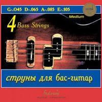 FEDOSOV GB4-2 (045-105) Cтруны для бас-гитары (4 стр.)
