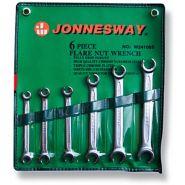 W24106S Набор ключей разрезных 8-19 мм JONNESWAY, 6 предметов