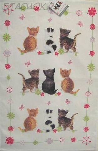 """Полотенце-панно """"Котята-1"""""""