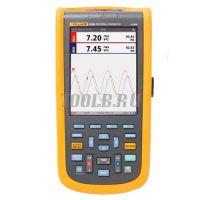 Fluke 124B/S - осциллограф - купить в интернет-магазине www.toolb.ru цена, отзывы, характеристики, производитель, официальный, сайт, поставщик, обзор, поверка, акция