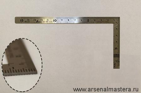 Угольник плоский Shinwa, 150х75мм Sh 12103 М00003468