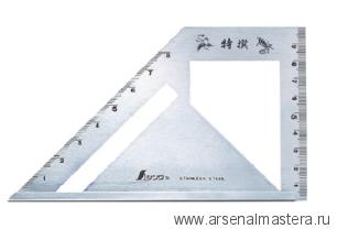 Шаблон угловой Shinwa, 163х15х5мм, Sh 62081 М00003451