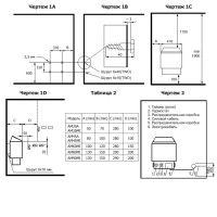 Электрокаменка Amazon AM90MI 9 кВт с выносным пультом