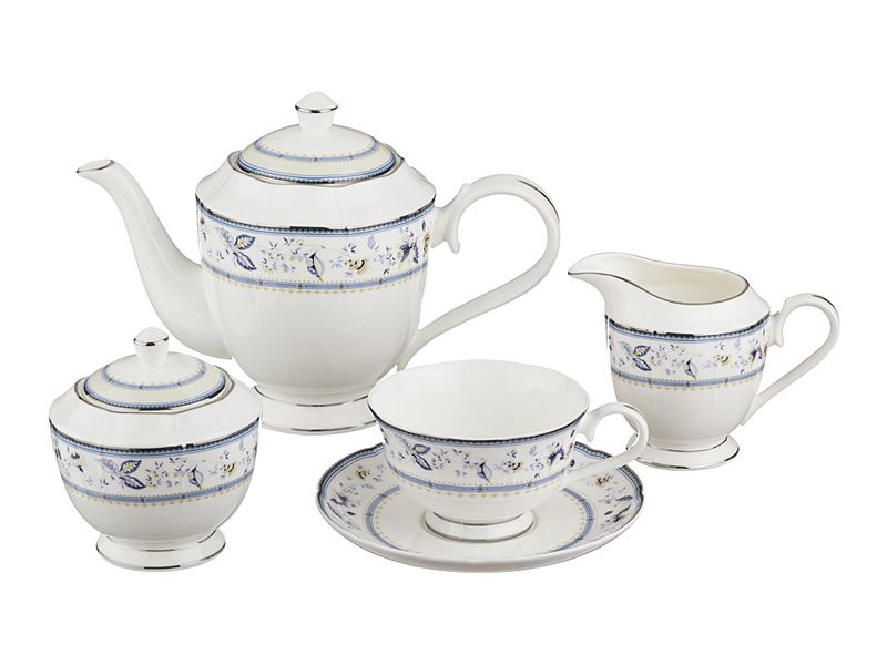 Чайный сервиз на 6 персон, 15 пр., 1000/250/300/350 мл