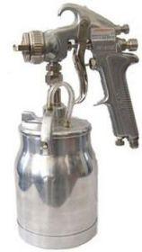 "JA-507S Покрасочный пистолет ""Краскопульт"" Jonnesway нижний бачок алюминиевый 1л, дюза 1,6мм."